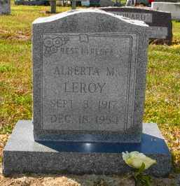 LEROY, ALBERTA M - Mississippi County, Arkansas   ALBERTA M LEROY - Arkansas Gravestone Photos