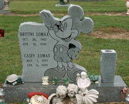 LOMAX, BRITTNI - Mississippi County, Arkansas | BRITTNI LOMAX - Arkansas Gravestone Photos