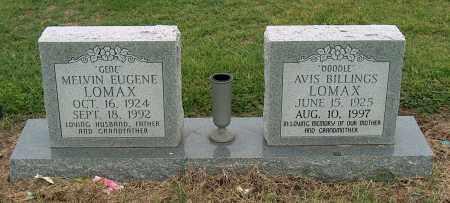 LOMAX, MELVIN EUGENE - Mississippi County, Arkansas | MELVIN EUGENE LOMAX - Arkansas Gravestone Photos