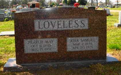 LOVELESS, KIRK SAMUEL - Mississippi County, Arkansas | KIRK SAMUEL LOVELESS - Arkansas Gravestone Photos
