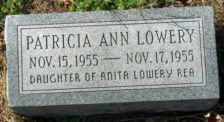 LOWERY, PATRICIA ANN - Mississippi County, Arkansas | PATRICIA ANN LOWERY - Arkansas Gravestone Photos
