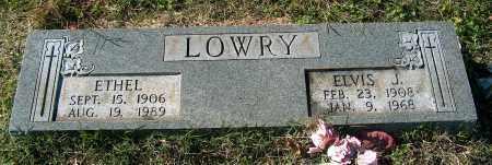 LOWRY, ELVIS J - Mississippi County, Arkansas | ELVIS J LOWRY - Arkansas Gravestone Photos