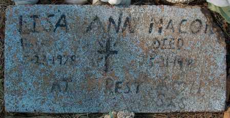 MACON, LISA ANN - Mississippi County, Arkansas   LISA ANN MACON - Arkansas Gravestone Photos