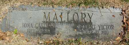 MALLORY, ROBERT VICTOR - Mississippi County, Arkansas | ROBERT VICTOR MALLORY - Arkansas Gravestone Photos