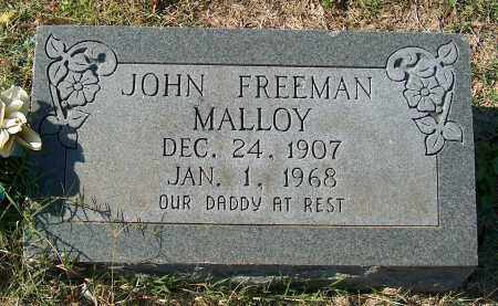 MALLOY, JOHN FREEMAN - Mississippi County, Arkansas | JOHN FREEMAN MALLOY - Arkansas Gravestone Photos