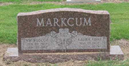MARKCUM, LAURA EDNA - Mississippi County, Arkansas | LAURA EDNA MARKCUM - Arkansas Gravestone Photos