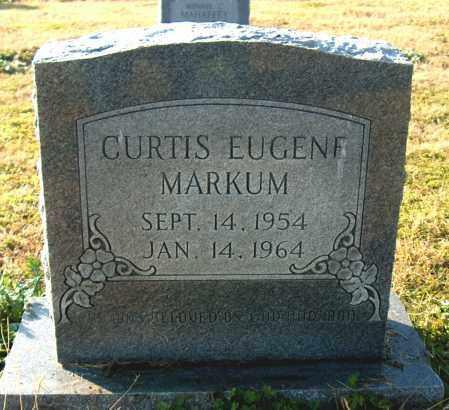 MARKUM, CURTIS EUGENE - Mississippi County, Arkansas | CURTIS EUGENE MARKUM - Arkansas Gravestone Photos