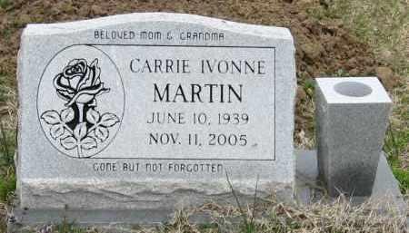 MARTIN, CARRIE IVONNE - Mississippi County, Arkansas | CARRIE IVONNE MARTIN - Arkansas Gravestone Photos