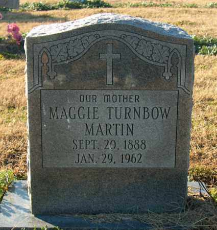 TURNBOW MARTIN, MAGGIE - Mississippi County, Arkansas | MAGGIE TURNBOW MARTIN - Arkansas Gravestone Photos