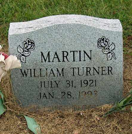 MARTIN, WILLIAM TURNER - Mississippi County, Arkansas | WILLIAM TURNER MARTIN - Arkansas Gravestone Photos