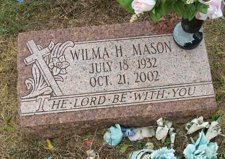 MASON, WILMA H - Mississippi County, Arkansas   WILMA H MASON - Arkansas Gravestone Photos