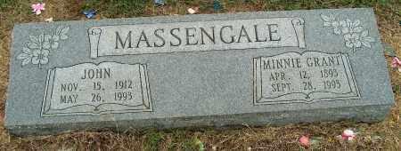 MASSENGALE, MINNIE - Mississippi County, Arkansas | MINNIE MASSENGALE - Arkansas Gravestone Photos