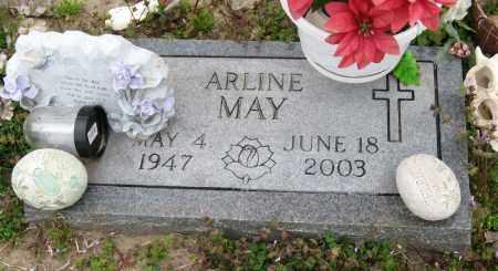 MAY, ARLINE - Mississippi County, Arkansas | ARLINE MAY - Arkansas Gravestone Photos