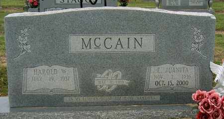 MCCAIN, E JUANITA - Mississippi County, Arkansas | E JUANITA MCCAIN - Arkansas Gravestone Photos