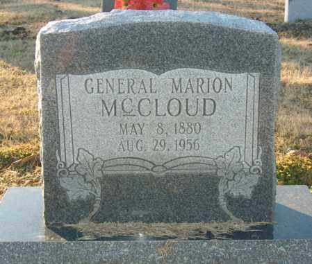 MCCLOUD, GENERAL MARION - Mississippi County, Arkansas | GENERAL MARION MCCLOUD - Arkansas Gravestone Photos