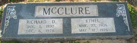 MCCLURE, ETHEL - Mississippi County, Arkansas | ETHEL MCCLURE - Arkansas Gravestone Photos