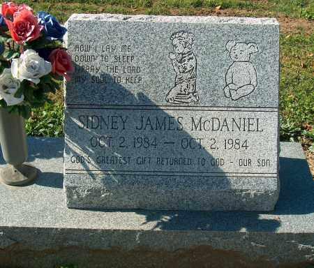 MCDANIEL, SIDNEY JAMES - Mississippi County, Arkansas | SIDNEY JAMES MCDANIEL - Arkansas Gravestone Photos