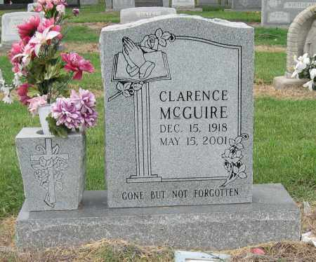 MCGUIRE, CLARENCE - Mississippi County, Arkansas   CLARENCE MCGUIRE - Arkansas Gravestone Photos