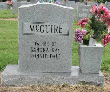 MCGUIRE, CLARENCE - Mississippi County, Arkansas | CLARENCE MCGUIRE - Arkansas Gravestone Photos
