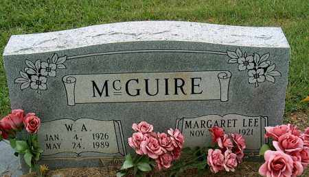 MCGUIRE, W. A. - Mississippi County, Arkansas | W. A. MCGUIRE - Arkansas Gravestone Photos