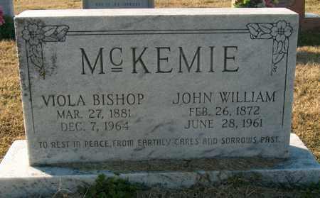 BISHOP MCKEMIE, VIOLA - Mississippi County, Arkansas | VIOLA BISHOP MCKEMIE - Arkansas Gravestone Photos