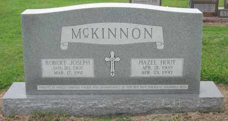 MCKINNON, ROBERT JOSEPH - Mississippi County, Arkansas | ROBERT JOSEPH MCKINNON - Arkansas Gravestone Photos