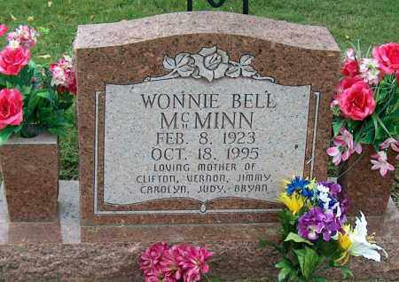 MCMINN, WONNIE BELL - Mississippi County, Arkansas | WONNIE BELL MCMINN - Arkansas Gravestone Photos