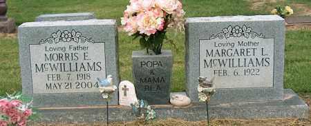 MCWILLIAMS, MORRIS E. - Mississippi County, Arkansas | MORRIS E. MCWILLIAMS - Arkansas Gravestone Photos