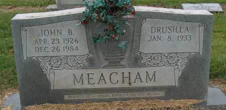 MEACHAM, JOHN B - Mississippi County, Arkansas   JOHN B MEACHAM - Arkansas Gravestone Photos