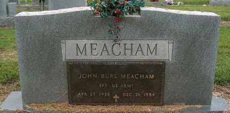 MEACHAM (VETERAN), JOHN BURL - Mississippi County, Arkansas   JOHN BURL MEACHAM (VETERAN) - Arkansas Gravestone Photos