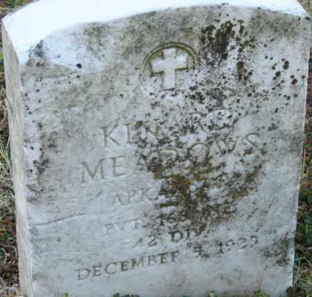 MEADOWS (VETERAN), KENARD - Mississippi County, Arkansas | KENARD MEADOWS (VETERAN) - Arkansas Gravestone Photos