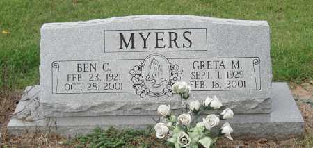 MEYERS, GRETA M. - Mississippi County, Arkansas   GRETA M. MEYERS - Arkansas Gravestone Photos