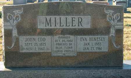 HINESLY MILLER, EVA - Mississippi County, Arkansas | EVA HINESLY MILLER - Arkansas Gravestone Photos