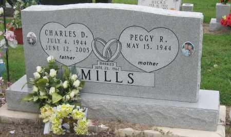 MILLS, CHARLES D - Mississippi County, Arkansas | CHARLES D MILLS - Arkansas Gravestone Photos