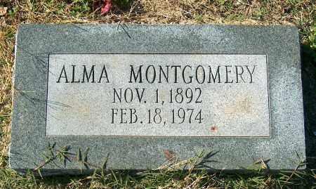 MONTGOMERY, ALMA - Mississippi County, Arkansas | ALMA MONTGOMERY - Arkansas Gravestone Photos
