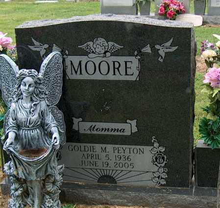MOORE, GOLDIE M - Mississippi County, Arkansas | GOLDIE M MOORE - Arkansas Gravestone Photos