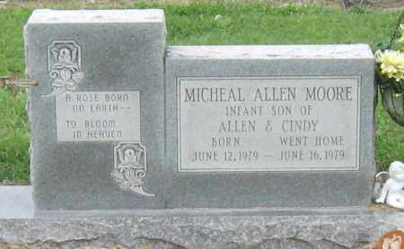 MOORE, MICHEAL ALLEN - Mississippi County, Arkansas | MICHEAL ALLEN MOORE - Arkansas Gravestone Photos