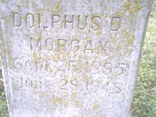 MORGAN, DOLPHUS D. - Mississippi County, Arkansas | DOLPHUS D. MORGAN - Arkansas Gravestone Photos