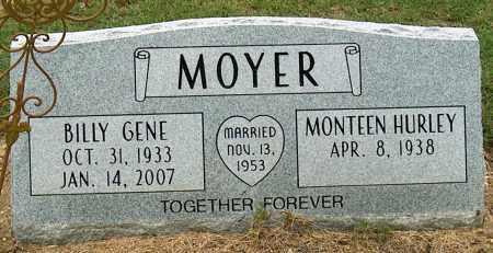 MOYER, BILLY GENE - Mississippi County, Arkansas   BILLY GENE MOYER - Arkansas Gravestone Photos