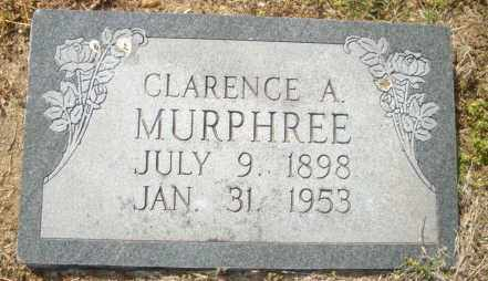 MURPHREE, CLARENCE A - Mississippi County, Arkansas   CLARENCE A MURPHREE - Arkansas Gravestone Photos