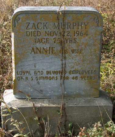 MURPHY, ZACK - Mississippi County, Arkansas | ZACK MURPHY - Arkansas Gravestone Photos