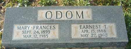ODOM, EARNEST T - Mississippi County, Arkansas | EARNEST T ODOM - Arkansas Gravestone Photos