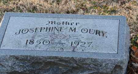 OURY, JOSEPHINE M. - Mississippi County, Arkansas   JOSEPHINE M. OURY - Arkansas Gravestone Photos