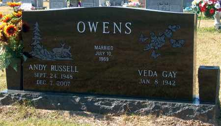OWENS, ANDY RUSSELL - Mississippi County, Arkansas | ANDY RUSSELL OWENS - Arkansas Gravestone Photos