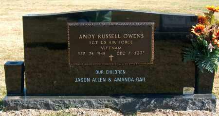 OWENS (VETERAN VIET), ANDY RUSSELL - Mississippi County, Arkansas | ANDY RUSSELL OWENS (VETERAN VIET) - Arkansas Gravestone Photos