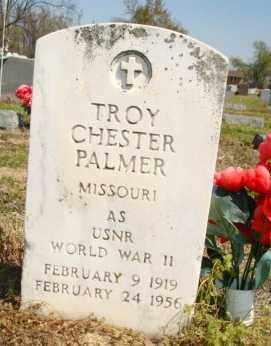 PALMER (VETERAN WWII), TROY CHESTER - Mississippi County, Arkansas   TROY CHESTER PALMER (VETERAN WWII) - Arkansas Gravestone Photos