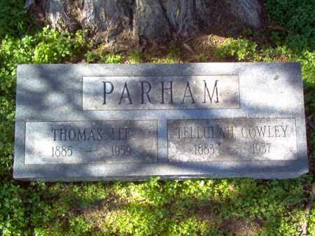PARHAM, THOMAS LEE - Mississippi County, Arkansas | THOMAS LEE PARHAM - Arkansas Gravestone Photos