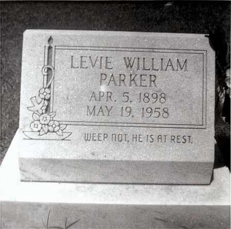 PARKER, LEVIE WILLIAM - Mississippi County, Arkansas | LEVIE WILLIAM PARKER - Arkansas Gravestone Photos