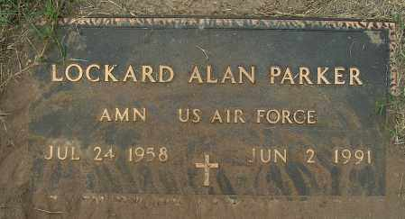PARKER (VETERAN), LOCKARD ALAN - Mississippi County, Arkansas | LOCKARD ALAN PARKER (VETERAN) - Arkansas Gravestone Photos