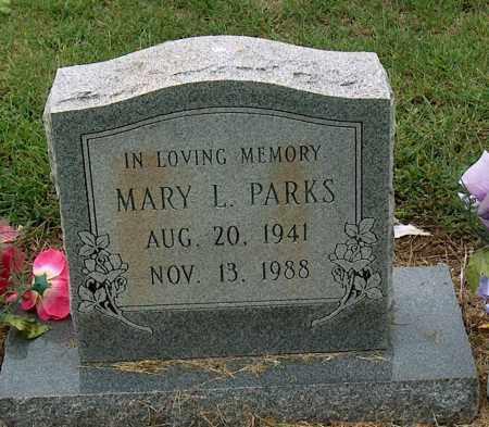 PARKS, MARY L - Mississippi County, Arkansas | MARY L PARKS - Arkansas Gravestone Photos